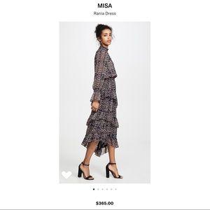 MISA LOS ANGELES RANIA FLORAL DRESS SZ XS